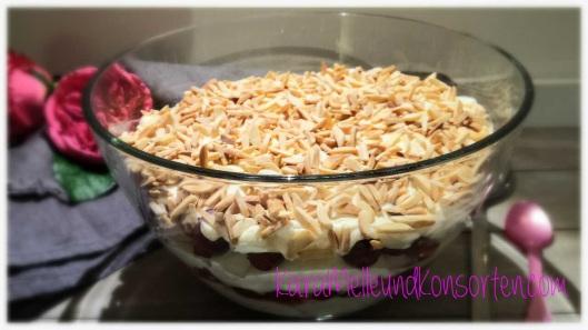 Mandel-Kirsch-Dessert - ok