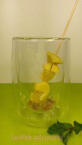Tee-Spießchen Ingwer-Zitrone