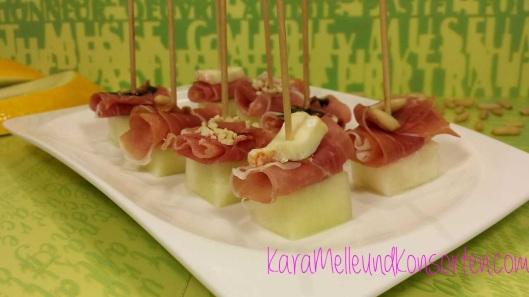 Melone-Schinken Haeppchen II OK