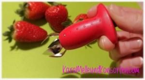 Erdbeer - Ausstecher offen ok