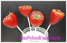 Erdbeer-Lollis-Glas OK