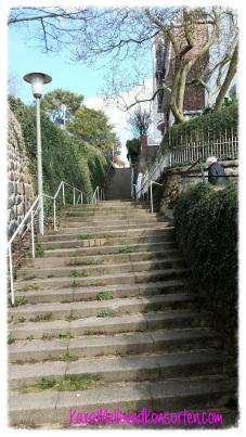 Blankenese - Treppe OK