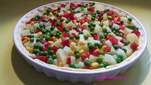 Gemüse-Quiche roh OK