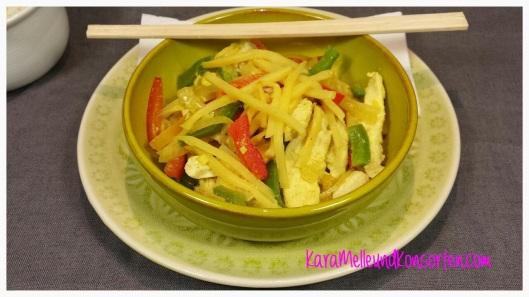 Hähnchen-Gemüse-Curry OK
