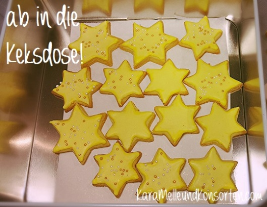 Buttergebäck Sterne III OK
