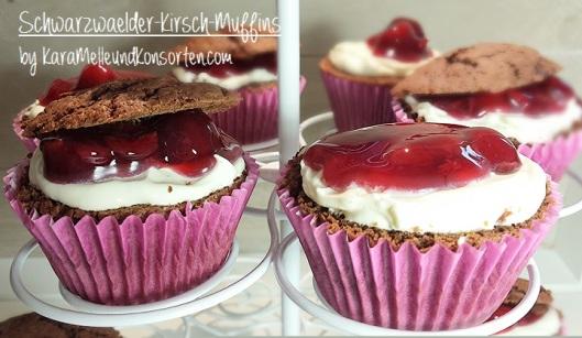 Schwarzwälder-Kirsch-Muffins II