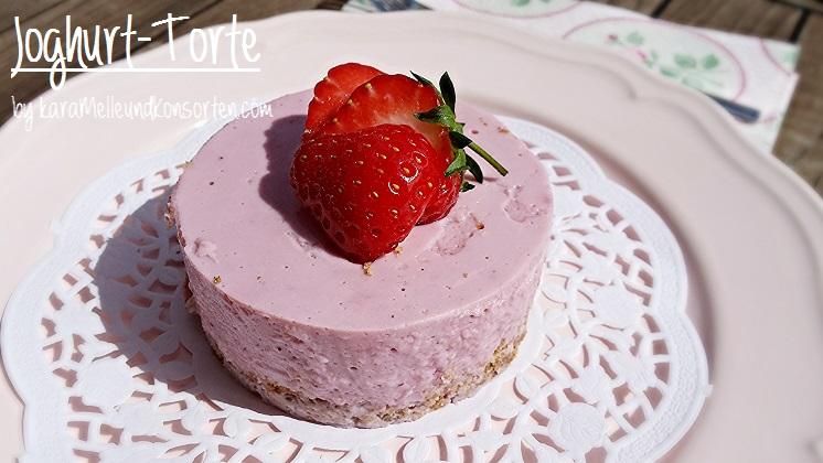 Erdbeer Joghurt Torte Fettarm Und Superschnell Gemacht